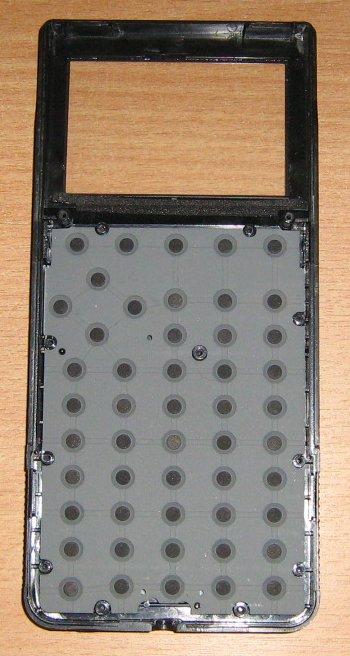 TI 85 - intérieur côté clavier