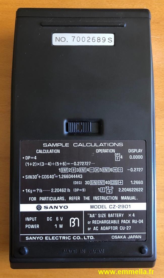 Sanyo CZ-2901