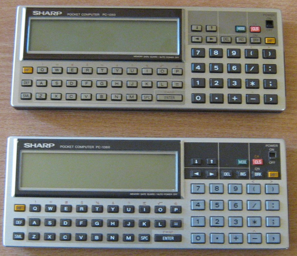 PC 1350 vs PC 1360
