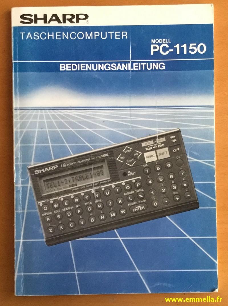 Sharp PC-1150