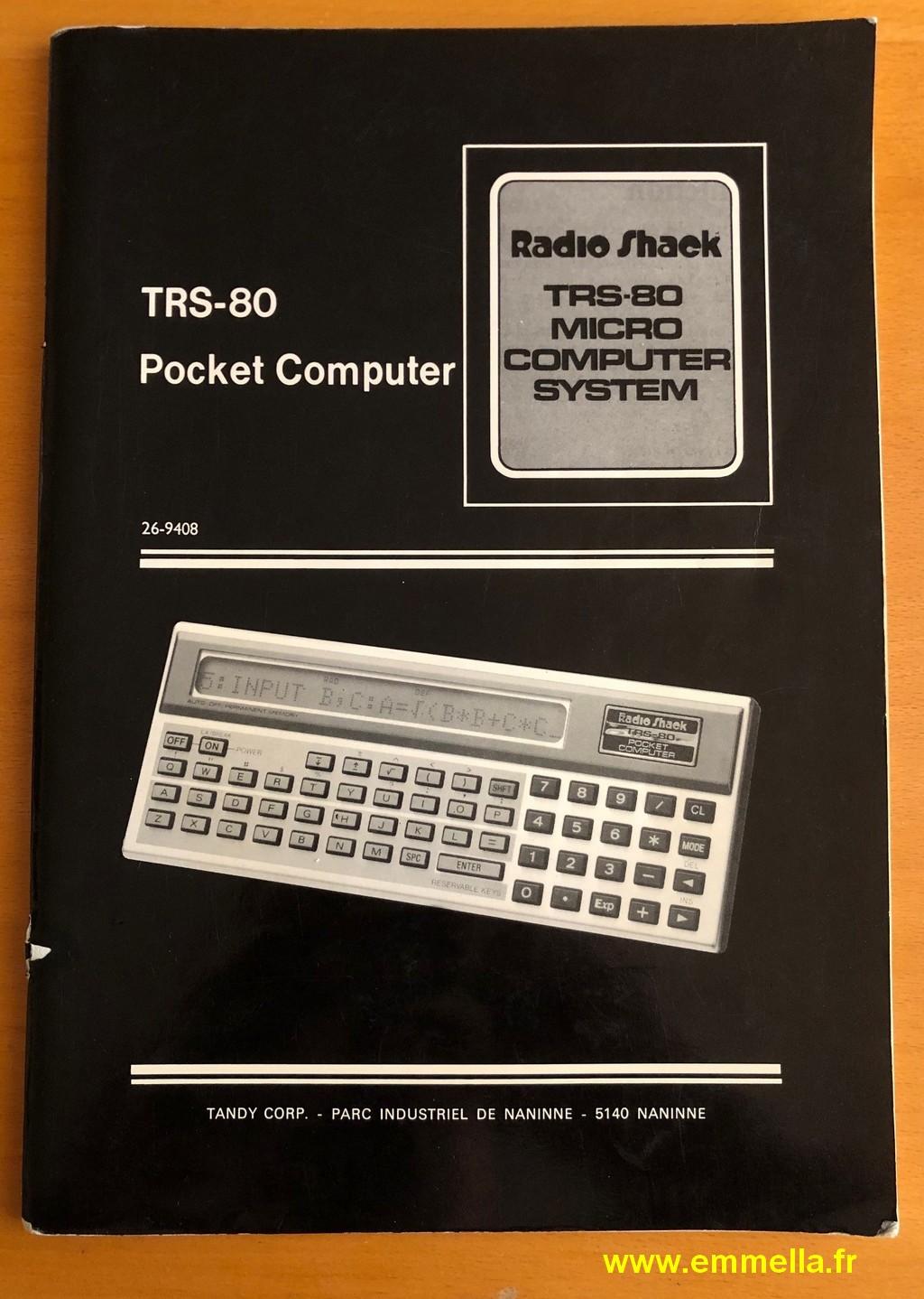 Documentation TANDY PC-1