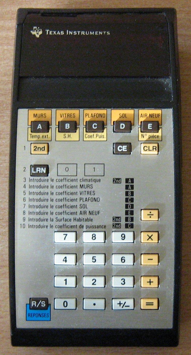 TI 58 EDF