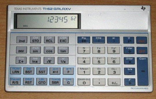 TI 62 Galaxy