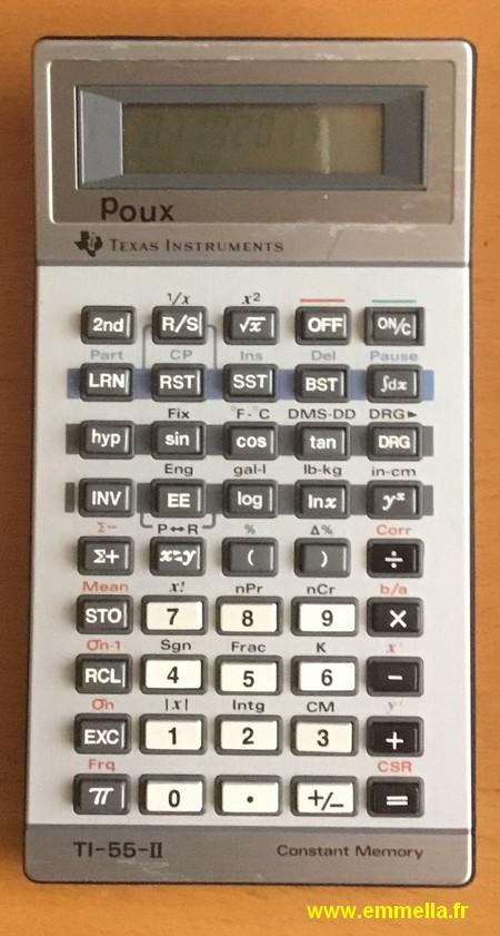 Texas Instruments TI 55 II