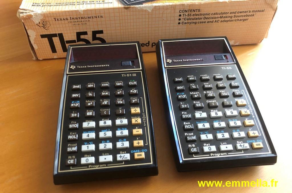 Texas Instruments TI 51 III / TI 55