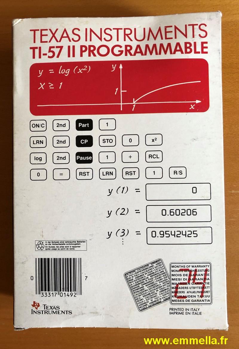 Texas Instruments TI 57 LCD / TI 57 II