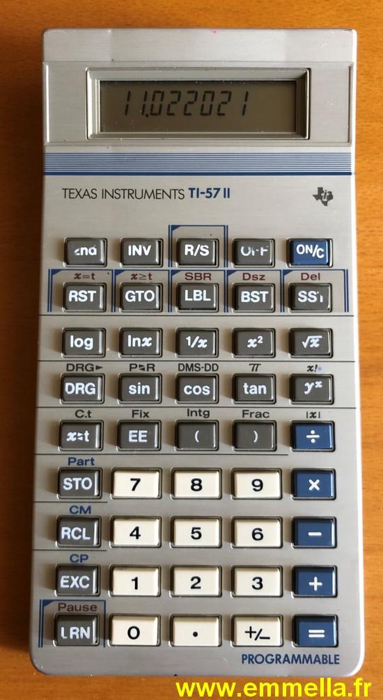 Texas Instruments TI 57 II