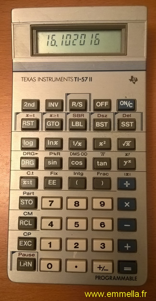 Teaxs Instruments TI 57 II