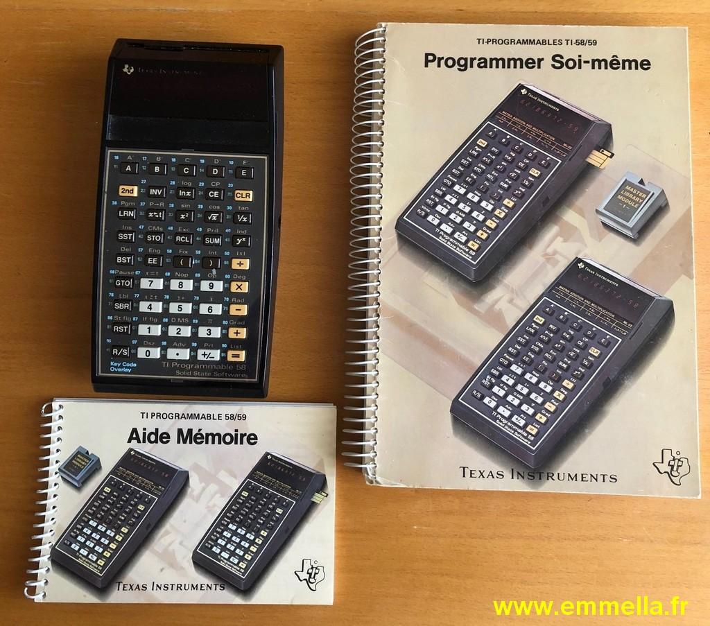 Texas Instruments TI 58