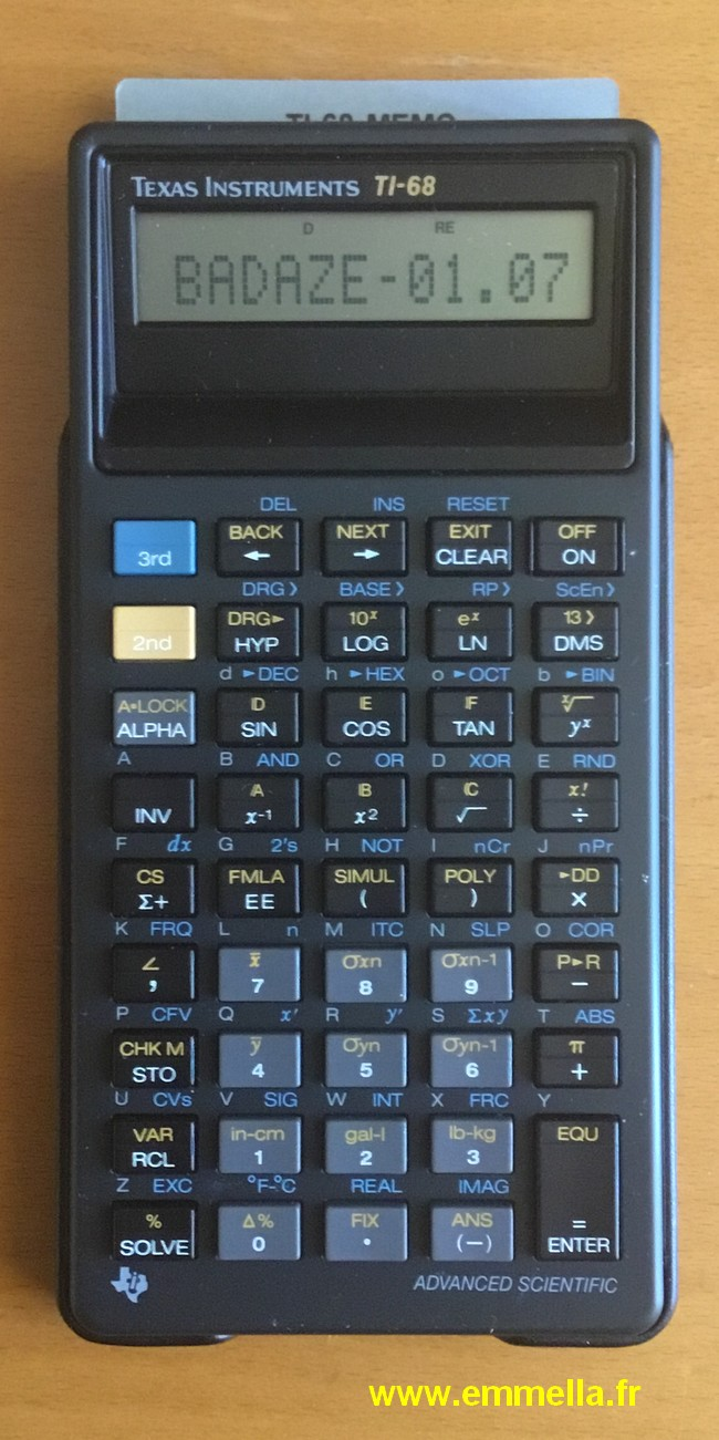 Texas Instruments TI 68