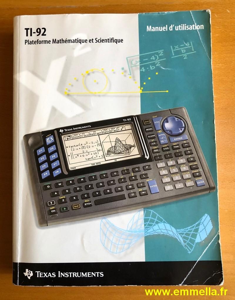 Texas Instruments TI 92 II