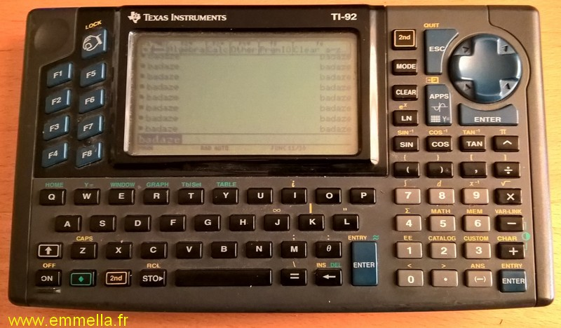 Texas Instruments TI 92