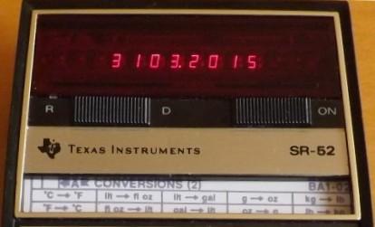 Texas Intruments TI SR 52