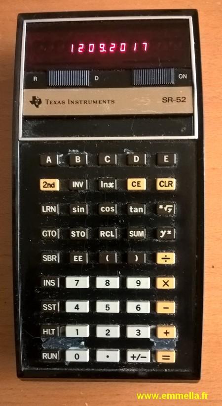 Texas Instruments TI SR-52