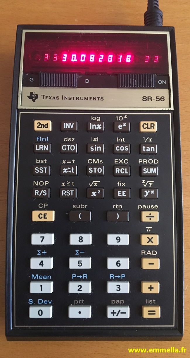 Texas Instruments TI SR-56