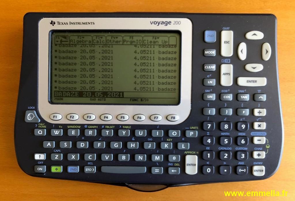 Texas Instruments - TI Voyage 200