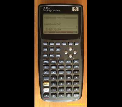 HP 40GS