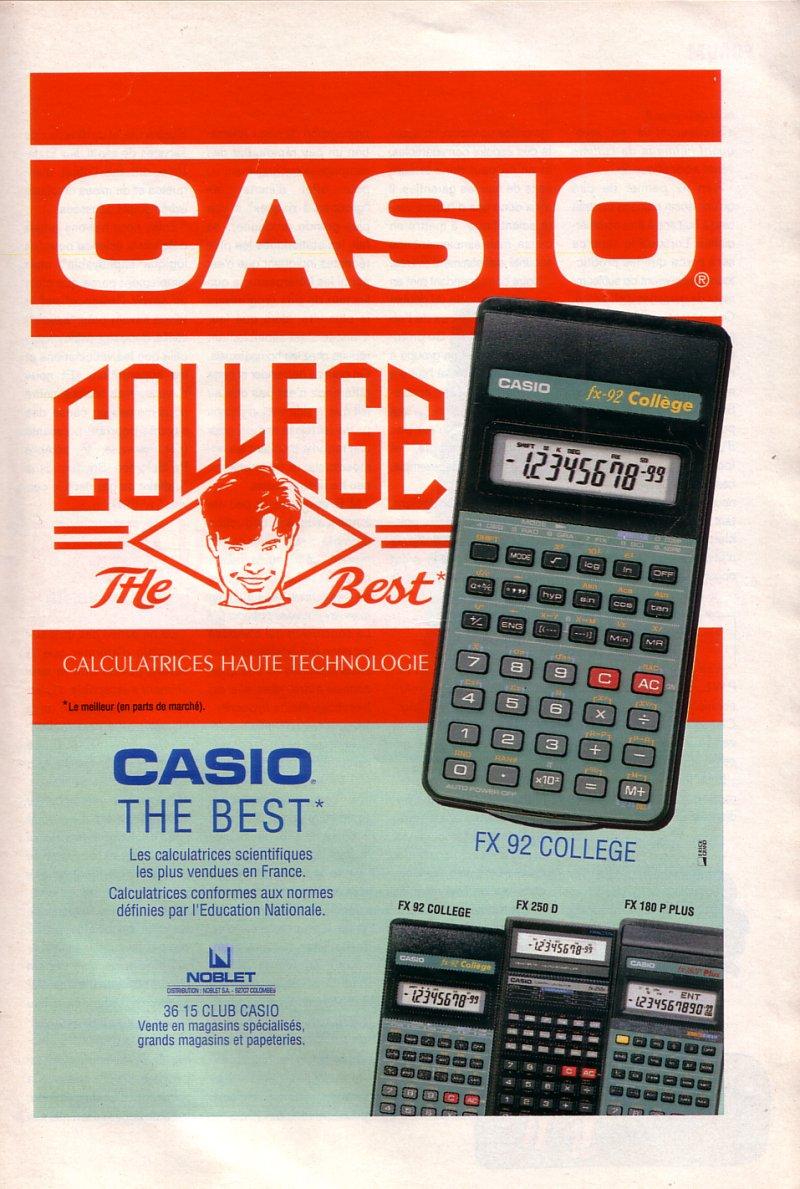 Casio Collège