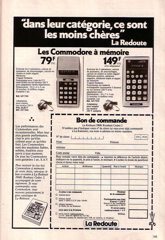 Commodore - La Redoute (1)