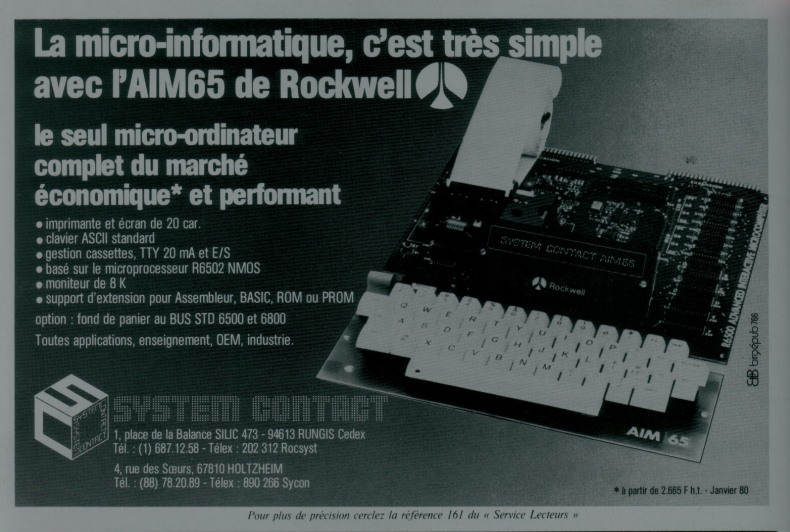 Rockwell AIM 65