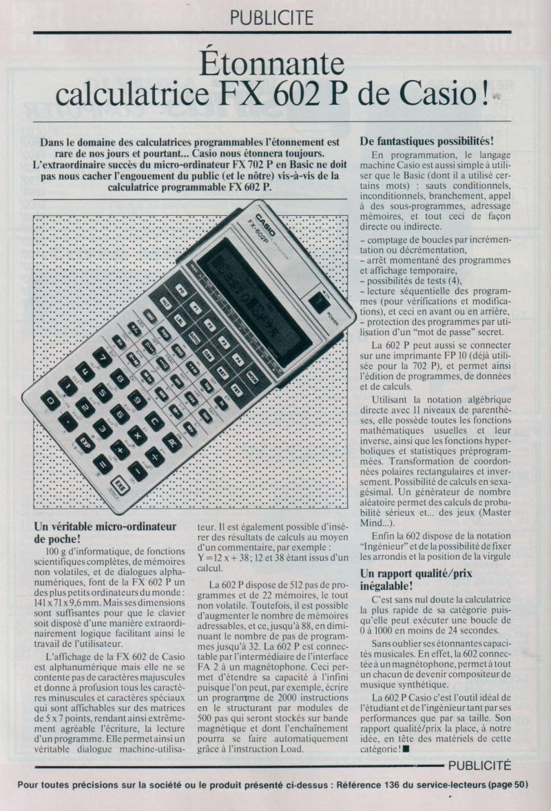 FX-602P