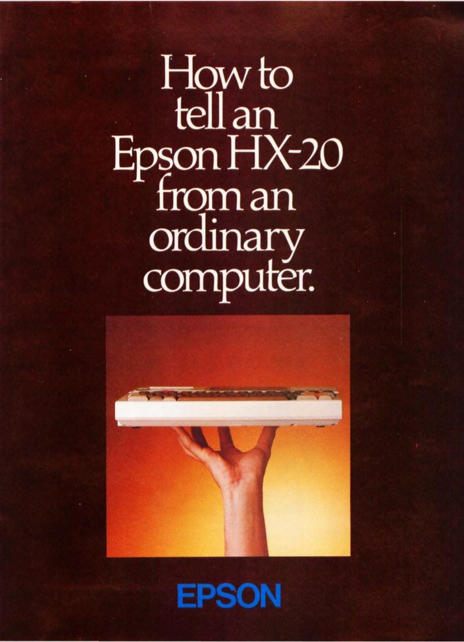 EPSON HX-20