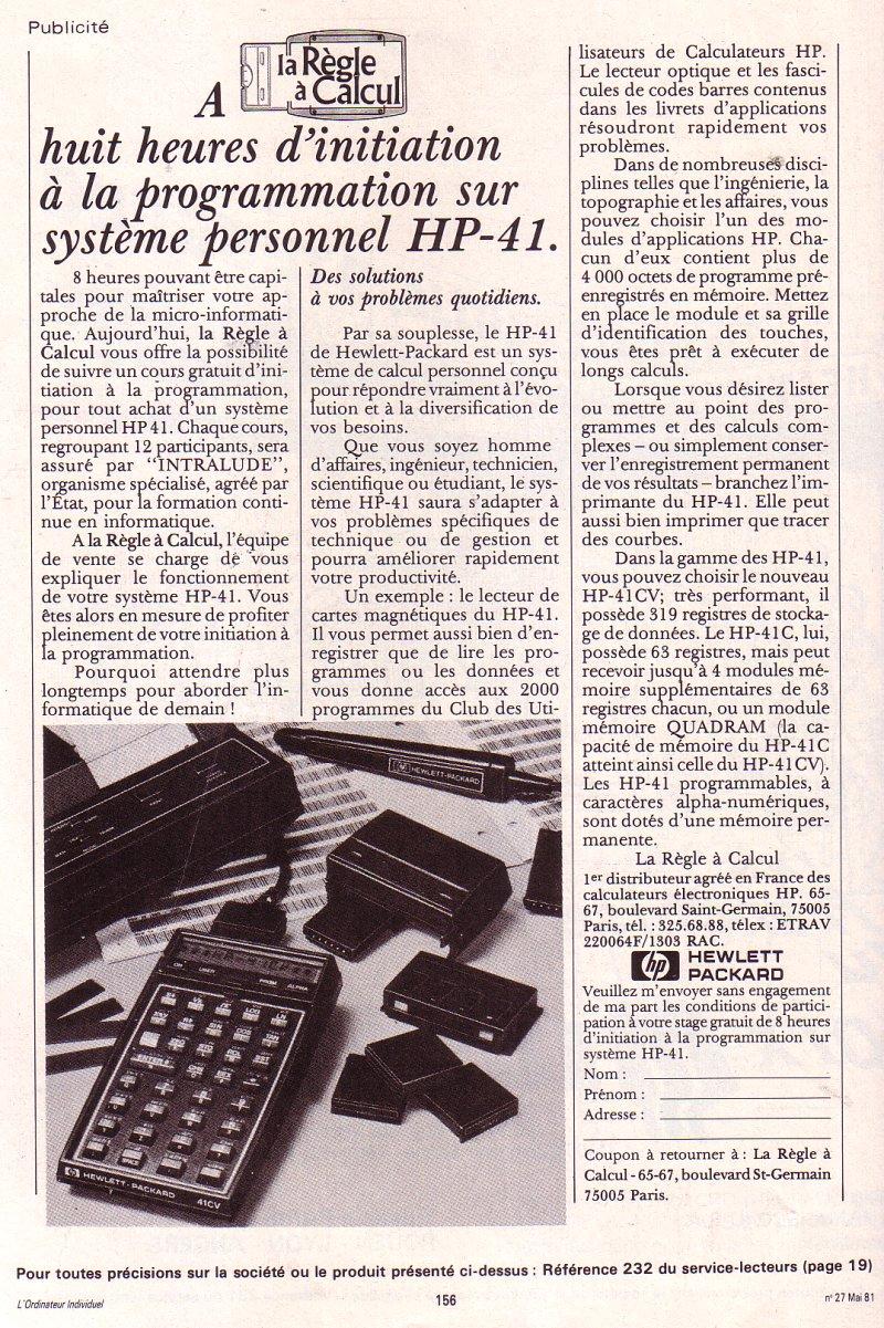 HP 41C