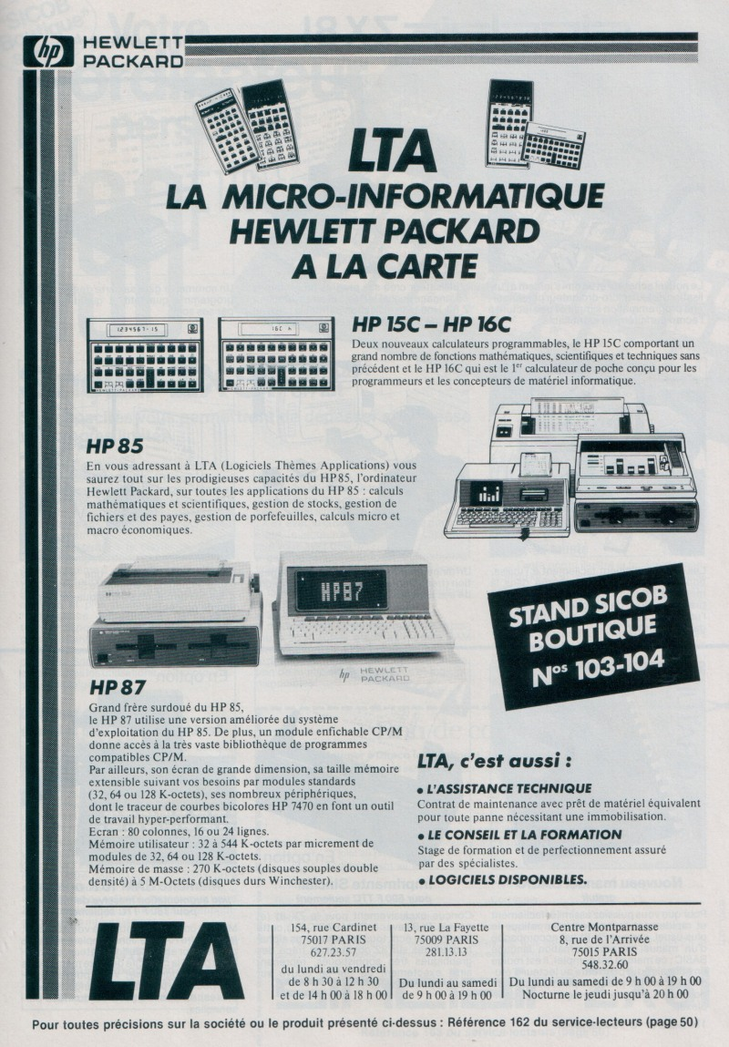 LTA - La micro informatique à la carte