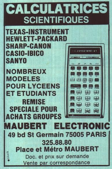 Maubert électronique