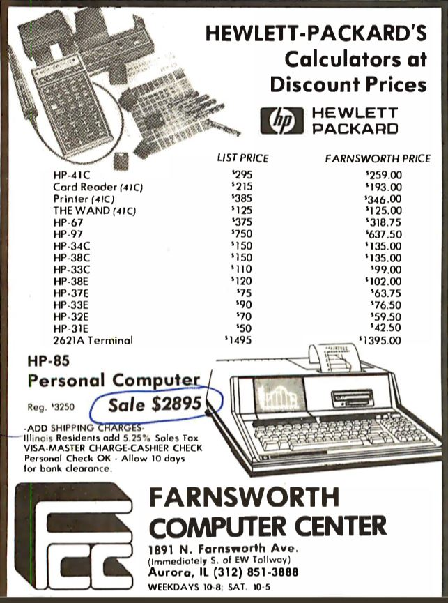 Hewlett-Packard's Calculators et Discount Prices