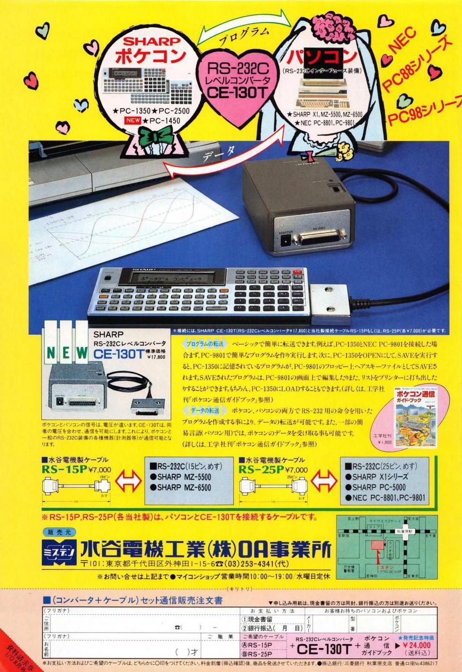 Sharp CE-130T