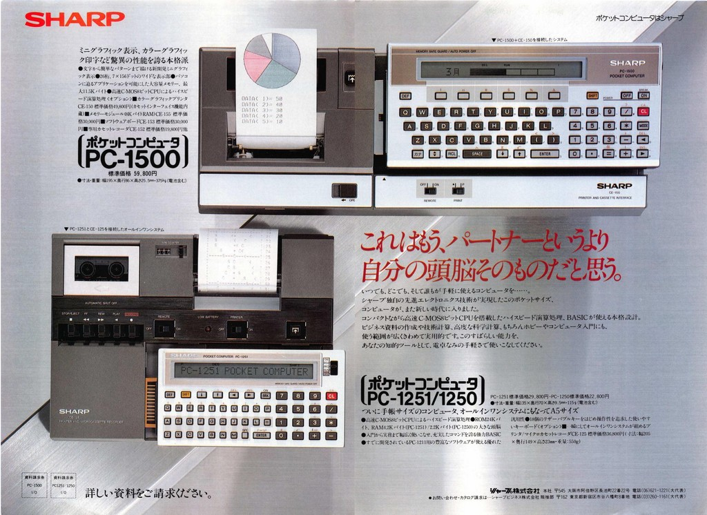 Sharp PC-1250/51 PC-1500