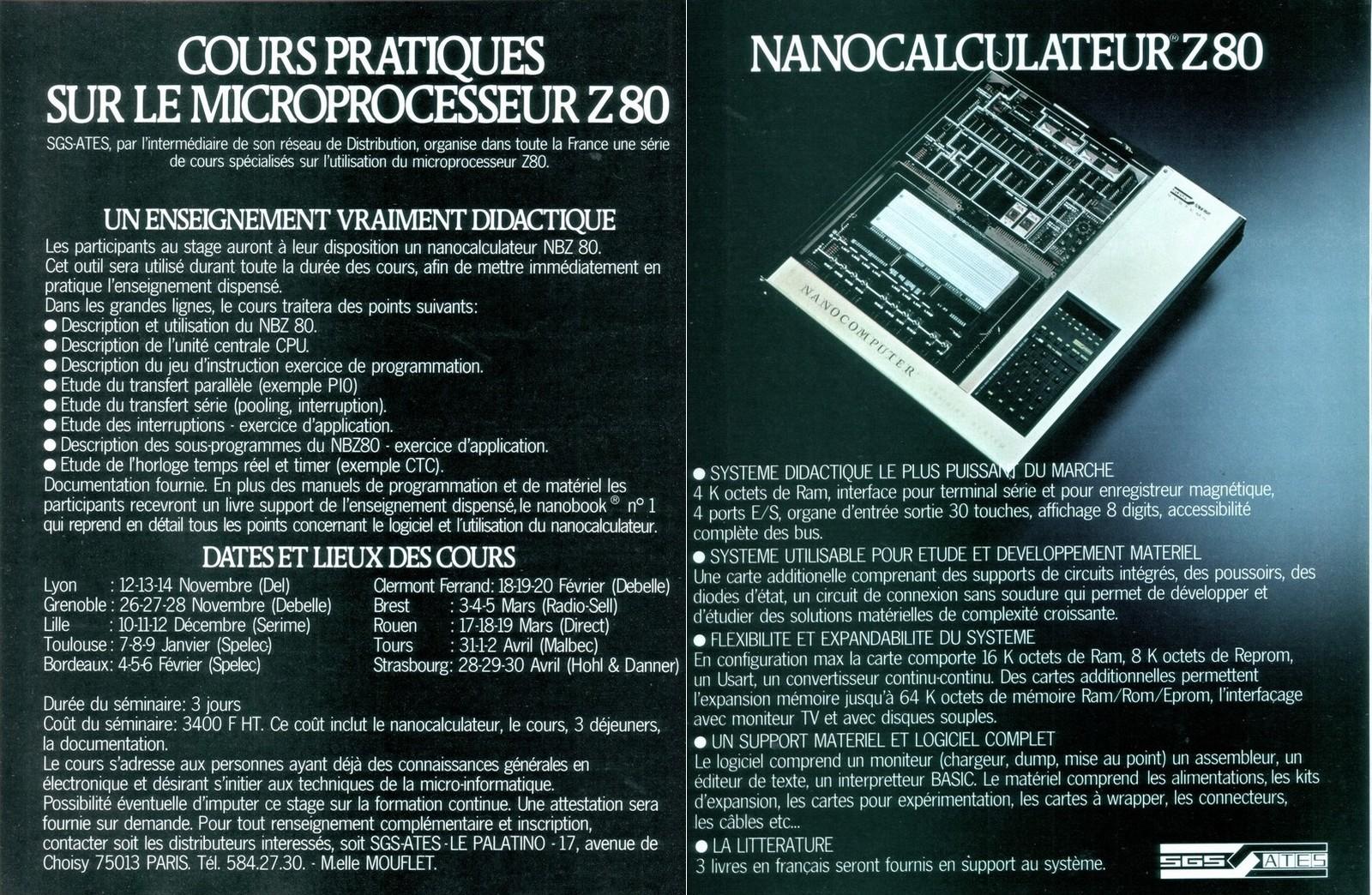 Nano Ordinateur
