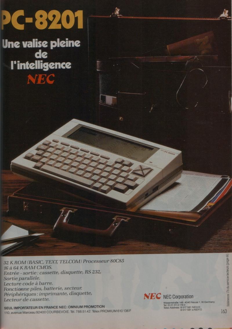 NEC PC 8201