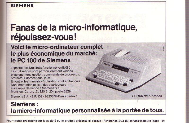 SIEMENS PC 100