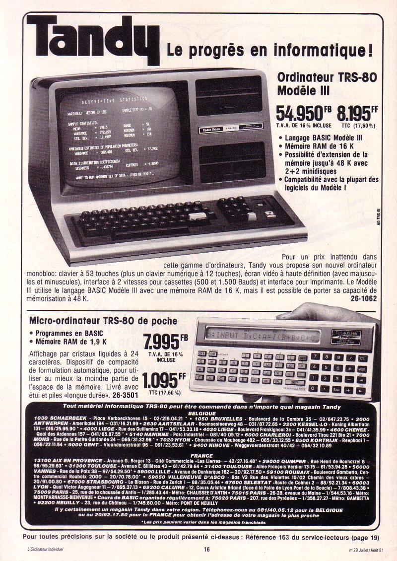 Tandy PC-1