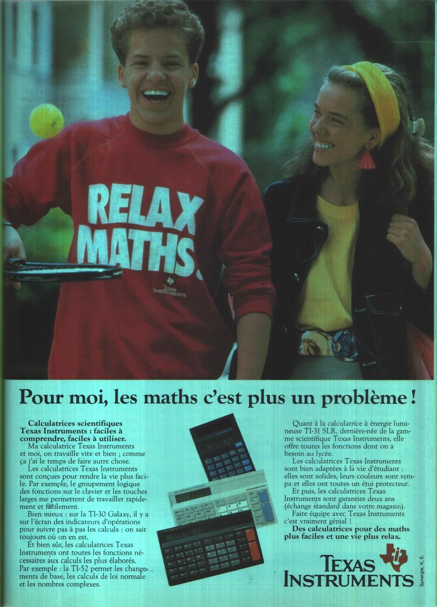 RELAX MATHS - Pour moi les maths c'est plus un problème