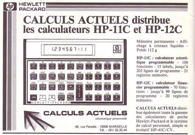 HP 11 / 12C