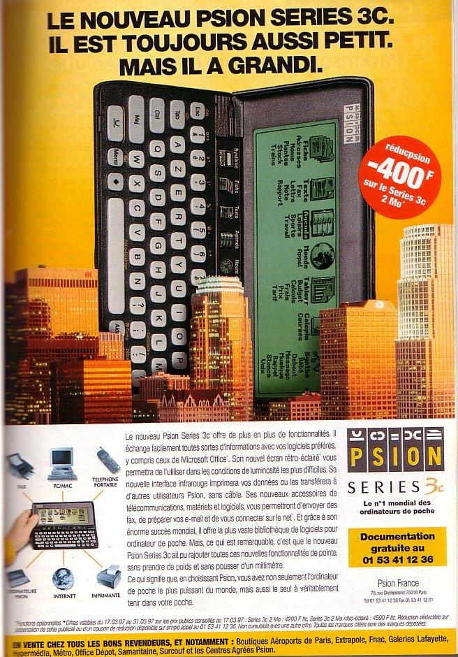 Psion - Series 3C