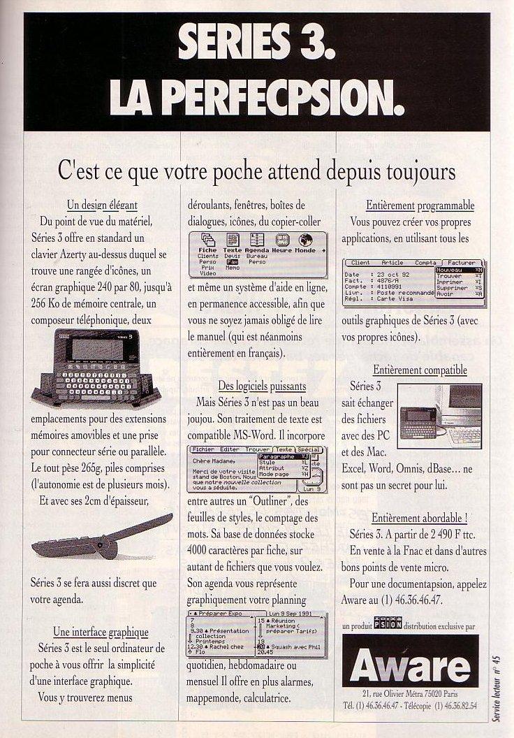 Psion - Series 3