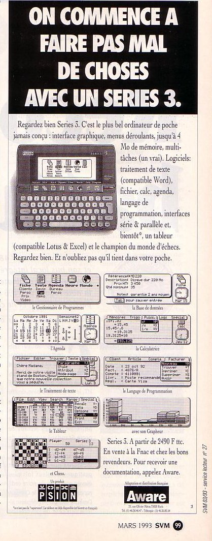 Psion Series 3