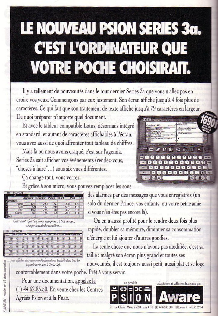 Psion - Series 3a
