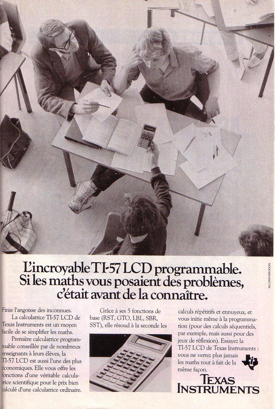 TI 57 (LCD)