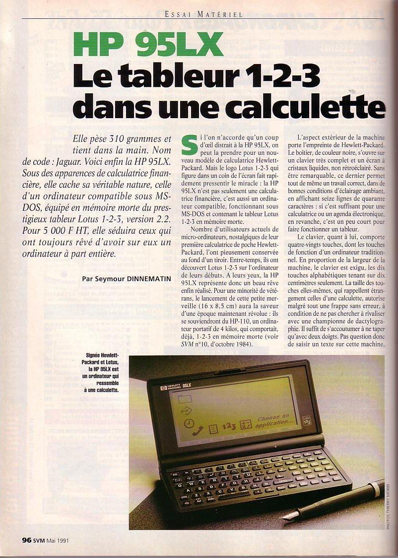 HP 95 LX