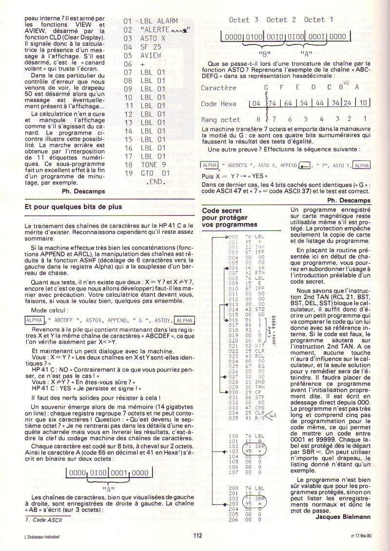 Hewlett Packard HP 41C