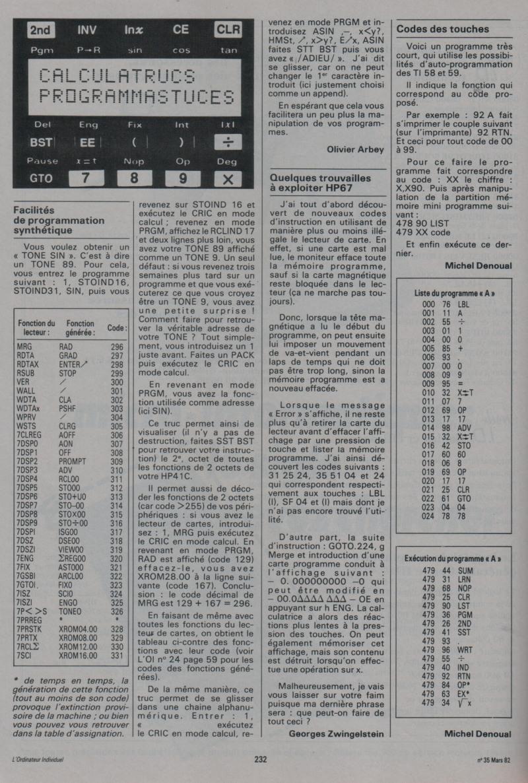 Hewlett Packard HP 67