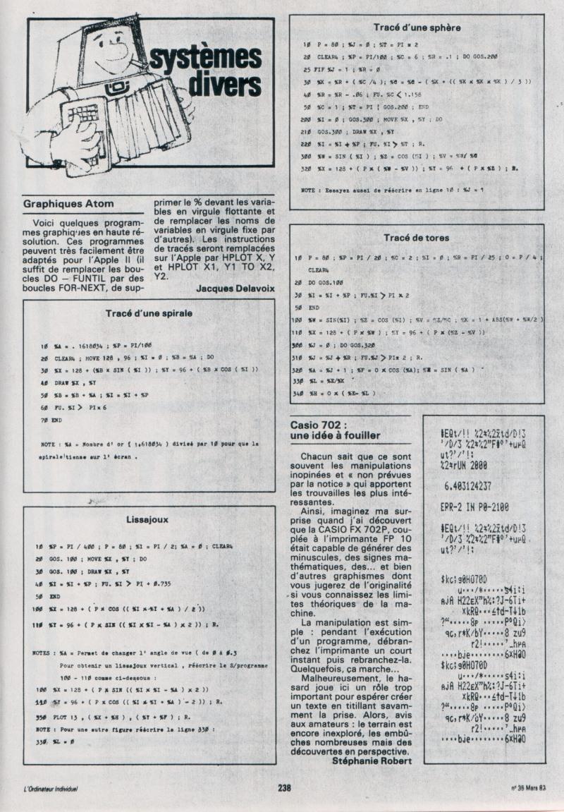 Casio FX 702P